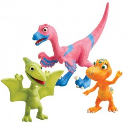 Set figurine Dinosaur Train-Velma, Annie & Don
