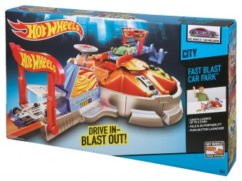 Fast Blast Car  Park -Hot Wheels