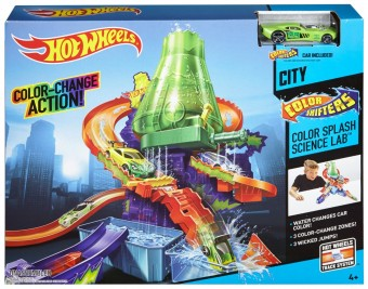 Hot Wheels Color Shifter Laboratory Playset