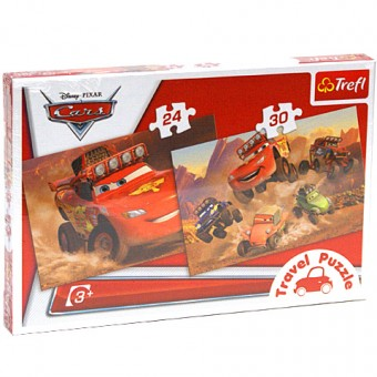 Puzzle 2 in 1 - Cars