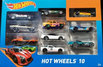Set 10 masinute Hot Wheels