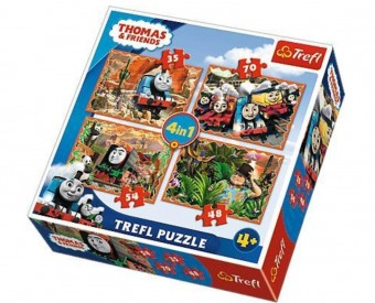 Set 4 puzzle - Thomas and Friends