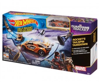 Set Guardians of the Galaxy - Hot Wheels