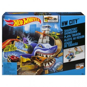Set Sharkport showdown - Hot Wheels