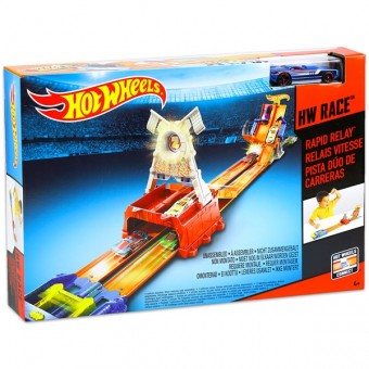 Set Stafeta rapida - Hot Wheels