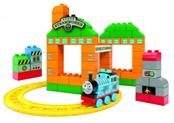 Thomas at the Sodor Steamworks - Mega Bloks